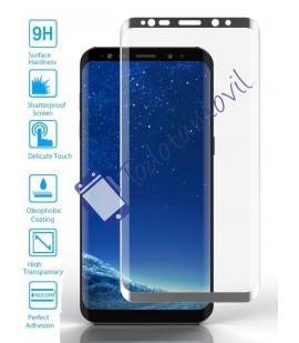 Lote Protector de Pantalla Cristal Templado Completo Samsung Galaxy S9 Metal