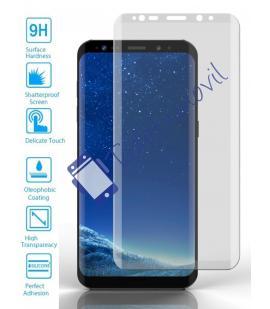 Lote Protector de Cristal Templado Completo Samsung Galaxy S9 Plus Transparente