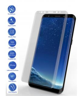 Protector de Pantalla Cristal Templado Completo Samsung Galaxy S9 Plus Transparente