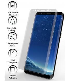 Kit Protector de Cristal Templado Completo Samsung Galaxy S9 Plus Transparente