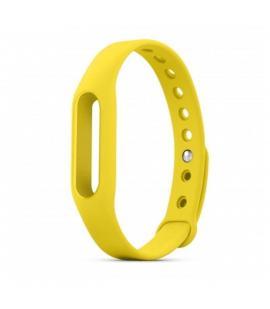 Recambio de correa de silicona para pulsera reloj Xiaomi Mi Band 2 Color Amarillo