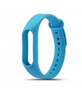 Recambio de correa de silicona para pulsera reloj Xiaomi Mi Band 2 Color Azul Oscuro