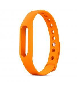 Recambio de correa de silicona para pulsera reloj Xiaomi Mi Band 2 Color Naranja