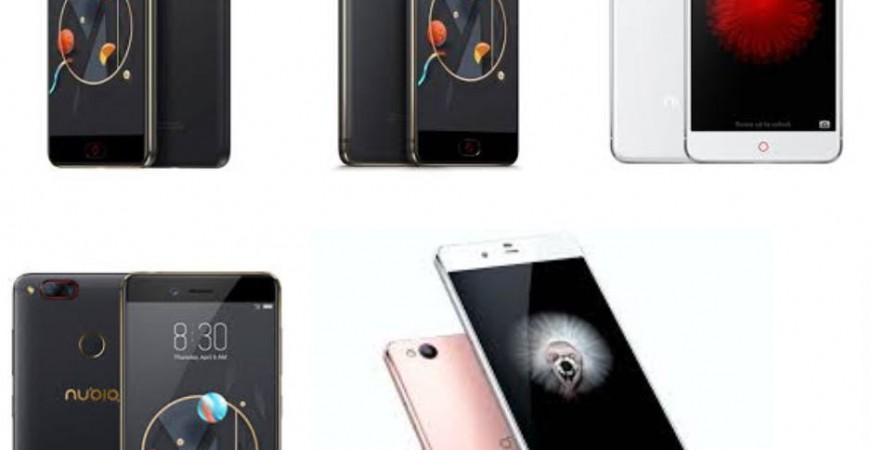 Protectores de pantalla para teléfonos móviles ZTE Nubia